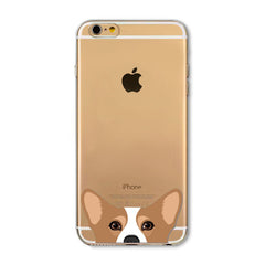 Animal Lover Familiar Face iPhone Case