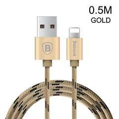Baseus 0.5m / 1m / 1.5m USB Cable Nylon Braided Fast Data Sync Charging Lightning Cable For iPhone 7 6 6s Plus 5 5s SE iPad iPod