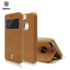 Ultra Thin Leather Flip Case for iPhone 7 | Top Seller | CooliPhoneAccessories