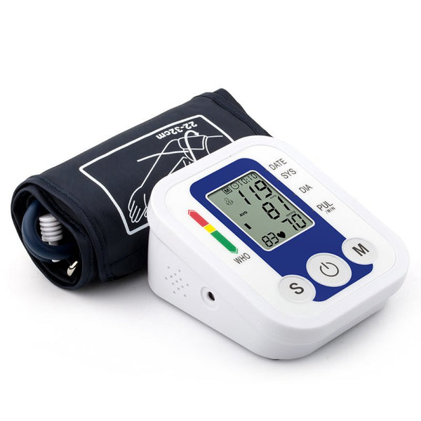 Portable Arm Blood Pressure Pulse Monitor