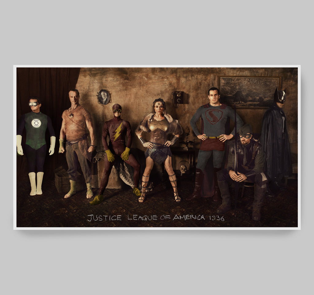 Gotham: 1919 - 1939 Justice League Print