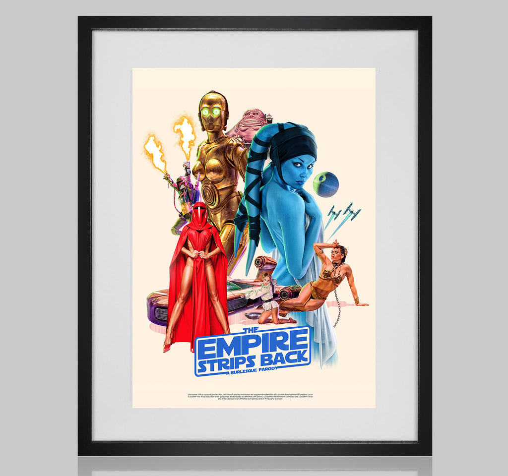 The Empire Strips Back Tour Poster *NEW*