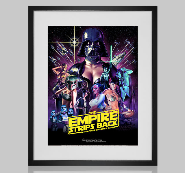 Empire Strips Back Tour Poster