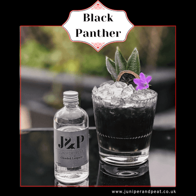 How to make a Black Panther cocktail