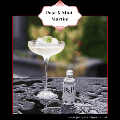 How to make a Pear & Mint Martini