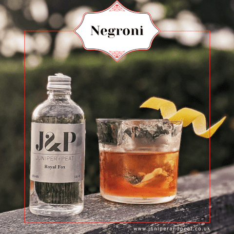 How to make a Negroni Gin cocktail for our Gin Subscription UK