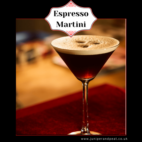 Espresso Martini from our Monthly Gin Club