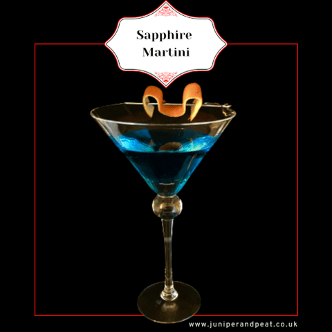 Sapphire martini from our Gin Subscription UK