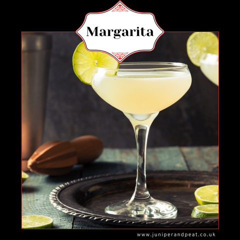 Margarita cocktail from The Gin Club