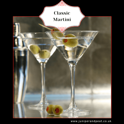 Classic Martini from our Monthly Gin Club
