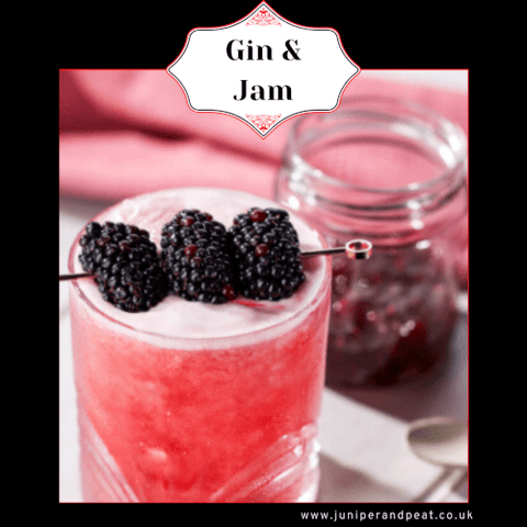 Gin & Jam Cocktail