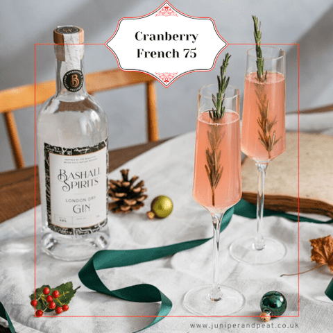 Cranberry French '75 from The Gin Club