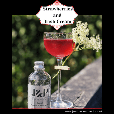 Strawberries and Irish Cream