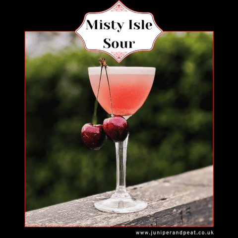 Misty Isle Sour cocktail