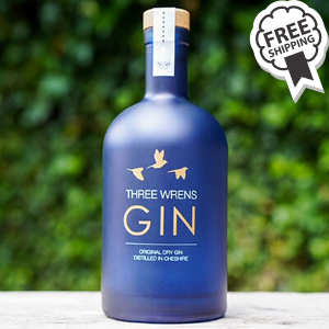 Three Wrens Original Dry Gin  (70cl) 42%ABV