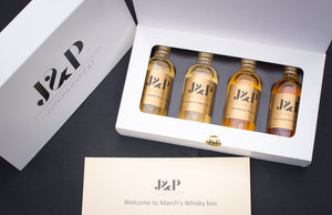 6 Months of Whisky Sharing Boxes Discount code: J&PNOTEBOOK