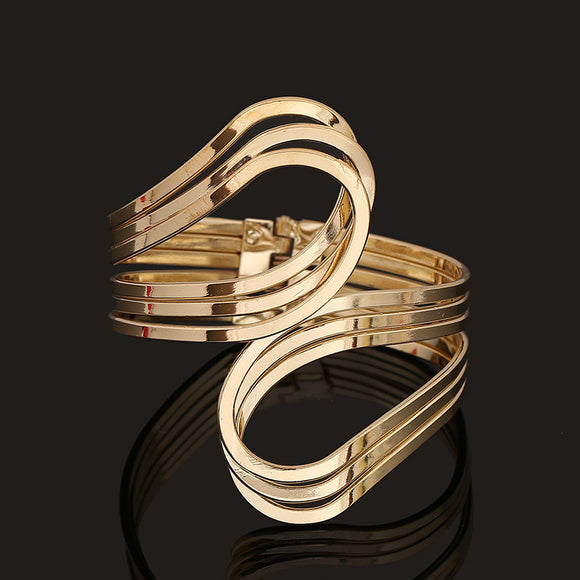 Gold Infinity Upper Arm Cuff