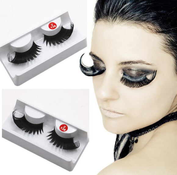 Fancy Soft Long False Eyelashes - 7 Colours