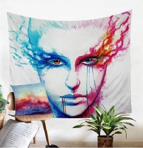 Bipolarity Wall Tapestry