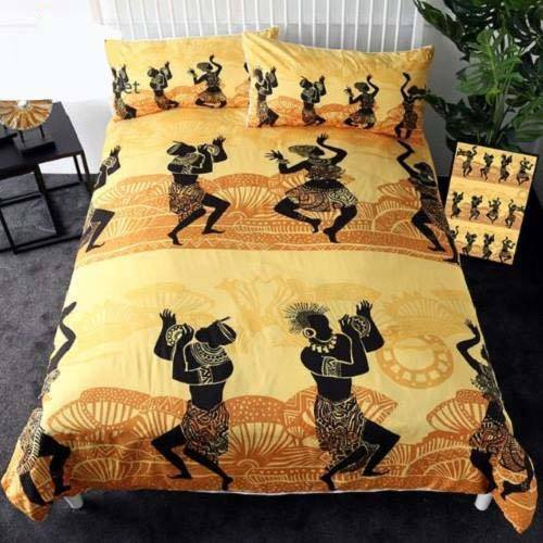 Africa Celebration Bedding Set Bedding Set BeddingOutlet Single