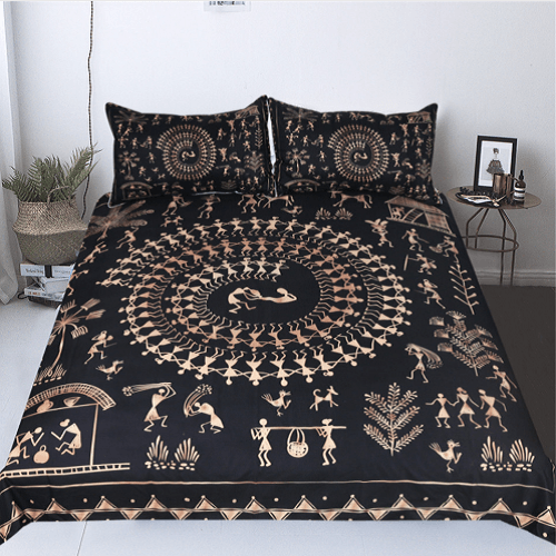 Ancient Civilization Bedding Set Bedding Cover Set BeddingOutlet Single