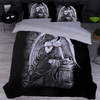 Angel Girl Halloween Duvet Cover Bedding covers Svetanya Single