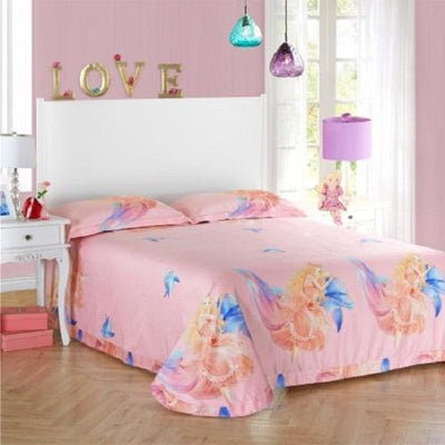 Angel Print Polyester Bedding Set Bedding Cover Set Svetanya