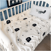 Angry Cartoon Print Kids Duvet Cover Set Baby Bedding Set Svetanya Crib Set