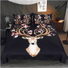 Animal Floral Reindeer Duvet Cover Set Bedding covers BeddingOutlet Single