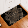 Animal Golden Tortoise Door Carpet Door & Floor Mats BeddingOutlet 40x60cm
