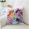 Animal Zebra Cushion Cover Cushion Cover BeddingOutlet 45cmx45cm