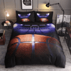 Basketball Theme Bedding Set Bedding covers Svetanya Sinlge