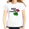 Beat Cancer Women T-Shirts Women T-Shirts JollyPeach S