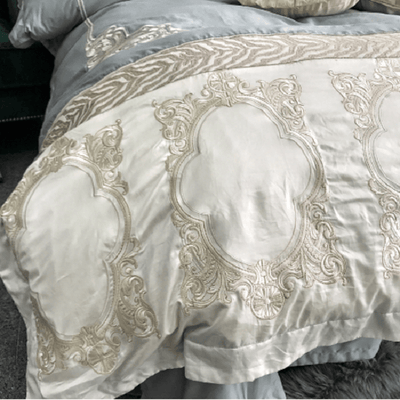 Beautiful Embroidered Luxury Duvet Cover Embroidered Bed Set Svetanya