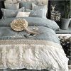 Beautiful Embroidered Luxury Duvet Cover Embroidered Bed Set Svetanya AU single