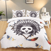 Black Panda Duvet Cover Set Bedding covers Svetanya Single