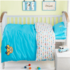 Blue Cars Embroidery Bedding Set Baby Bedding Set Svetanya Crib Set