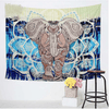 Blue Elephants Colored Tapestry Tapestry BeddingOutlet 150cmx130cm