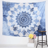 Blue Floral Colored Tapestry Tapestry BeddingOutlet 150cmx130cm