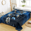 Blue Galaxy Dreamcatcher Bed Sheet Bedding Covers Sheets BeddingOutlet Twin