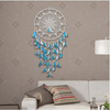 Blue Hand-woven Feather Dream Catcher Wind Chimes Dream Catcher Wind Chimes NAI YUE