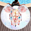 Bohemia Printed Round Towel Beach/Bath Towel BeddingOutlet Diameter 150cm