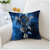 Bohemian Blue Galaxy Cushion Cover Cushion Cover BeddingOutlet 45cmx45cm
