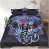 Bohemian Elephants Bedding Set Bedding Set BeddingOutlet Single