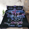 Bohemian Elephants Lotus Flower Bed Cover Bedding Cover Set BeddingOutlet Single