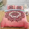 Bohemian Floral Colorful Bedding Set Bedding covers Svetanya Single