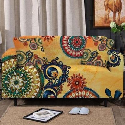 Bohemian Floral Sofa Cover Sofa Covers BeddingOutlet 1-Seater