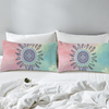 Bohemian Pink and Blue Duvet Bedding Set Bedding covers BeddingOutlet