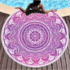Boho Mandala Round Beach Towel Beach/Bath Towel BeddingOutlet Diameter 150cm