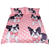 Bow Tie Bull Dogs Bedding Set Bedding Set BeddingOutlet Single